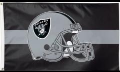 Drapeau NFL Oakland Raiders Casque - 90 x 150 cm