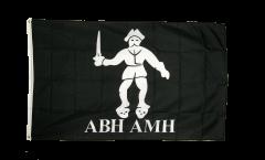 Drapeau Pirate Abh Amh - 90 x 150 cm