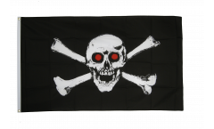Drapeau Pirate fâché