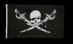 Drapeau Pirate avec sabre