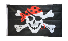 Drapeau Pirate one eyed Jack