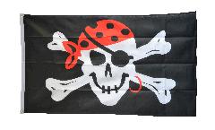 Drapeau Pirate one eyed Jack