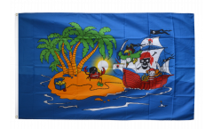 Drapeau Pirate bateau pirate