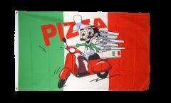 Drapeau Pizza Italie