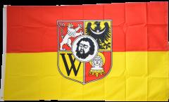 Drapeau Pologne Wroclaw
