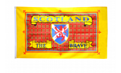 Drapeau Ecosse Scotland The Brave
