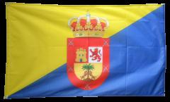 Drapeau Espagne Grande Canarie