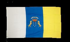 Drapeau Espagne Îles Canaries