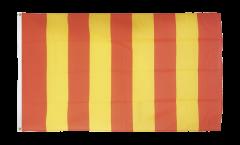 Drapeau Bande jaune-rouge