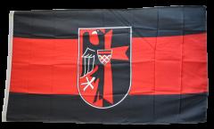 Drapeau Région des Sudètes avec Blason