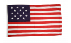 Drapeau USA Etats-Unis 15 Etoiles - 90 x 150 cm