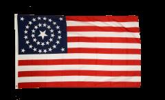 Drapeau USA Etats-Unis 38 Etoiles 1877 - 90 x 150 cm