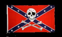 Drapeau confédéré USA Sudiste avec Pirate