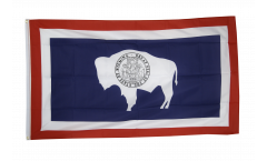 Drapeau USA US Wyoming