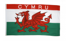 Drapeau Pays de Galles CYMRU