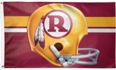 Drapeau NFL Washington Redskins Casque - 90 x 150 cm