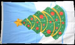 Drapeau Arbre de Noël