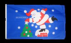 Drapeau Père Noël HoHoHo - 90 x 150 cm