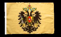 Drapeau Autriche-Hongrie 1815-1915 avec ourlet