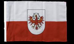 Drapeau Autriche Tyrol avec ourlet