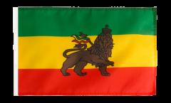 Drapeau Ancien Ethiopie avec ourlet