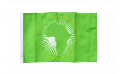 Drapeau Union Africaine UA avec ourlet