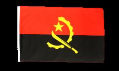 Drapeau Angola avec ourlet