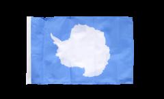 Drapeau Antarctique avec ourlet
