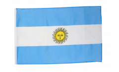 Drapeau Argentine avec ourlet