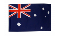 Drapeau Australie avec ourlet