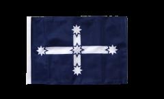Drapeau Australie Eureka 1854 avec ourlet
