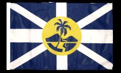 Drapeau Australie Île Lord Howe avec ourlet