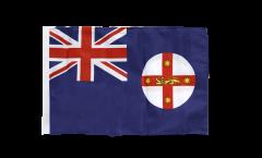 Drapeau Australie Nouvelle-Galles-du-Sud avec ourlet