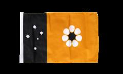 Drapeau Australie Northern Territory avec ourlet