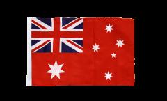 Drapeau Australie red Ensign Pavillon marchand avec ourlet