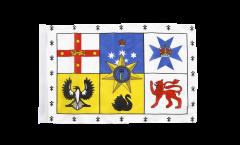 Drapeau Australie Royal Standard avec ourlet