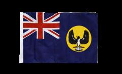 Drapeau Australie South avec ourlet
