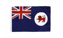 Drapeau Australie Tasmania avec ourlet