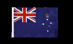 Drapeau Australie Victoria avec ourlet