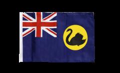 Drapeau Australie Western avec ourlet