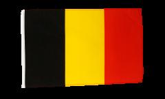 Drapeau Belgique avec ourlet