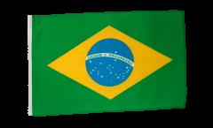 Drapeau Brésil avec ourlet