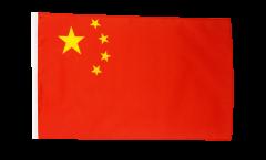 Drapeau Chine avec ourlet