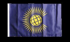 Drapeau Commonwealth nouveau avec ourlet