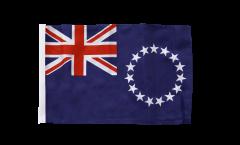 Drapeau Îles Cook avec ourlet