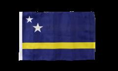 Drapeau Curaçao avec ourlet