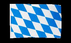 Drapeau Allemagne Bavière sans blason avec ourlet