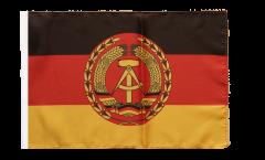 Drapeau Allemagne RDA Nationale Volksarmee NVA avec ourlet