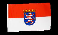 Drapeau Allemagne Hesse avec ourlet
