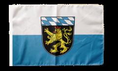 Drapeau Allemagne Haute-Bavière avec ourlet